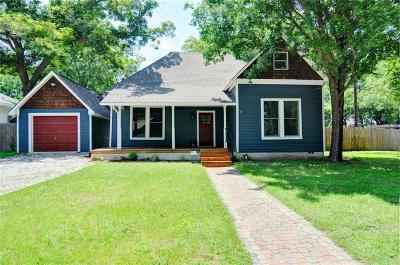 Weatherford Single Family Home For Sale: 402 S Waco Street