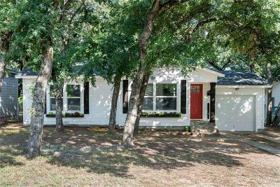 Bedford Single Family Home Active Contingent: 1221 Glenda Drive