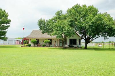 Denton Single Family Home For Sale: 4898 Jim Christal Road