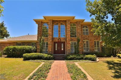 Abilene Single Family Home Active Option Contract: 1259 Chariot Circle