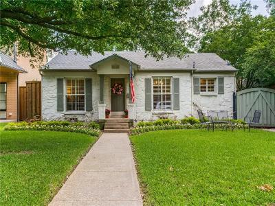 Dallas Single Family Home For Sale: 5718 W Amherst Avenue