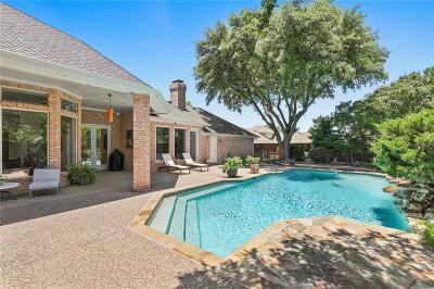 Addison Single Family Home For Sale: 14860 Oaks North Place