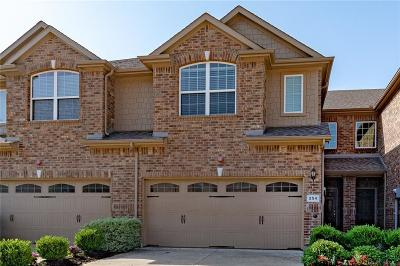 Lewisville Townhouse For Sale: 254 Barrington Lane