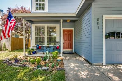 Denton Single Family Home For Sale: 801 Pace Drive