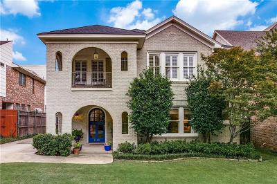 Dallas County Single Family Home For Sale: 3619 Asbury Street