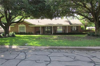 Cleburne Single Family Home For Sale: 1235 Crestwood Drive