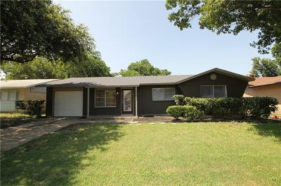 Garland Single Family Home Active Option Contract: 4309 Windsor Drive