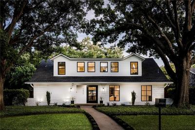 Dallas Single Family Home For Sale: 7836 Rolling Acres Drive