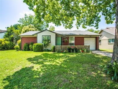 Burleson Single Family Home Active Option Contract: 736 Sunnybrook Drive