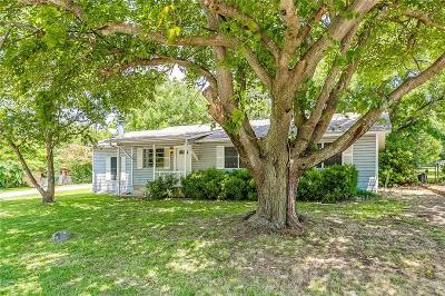 Weatherford Single Family Home Active Option Contract: 1501 S Elm Street