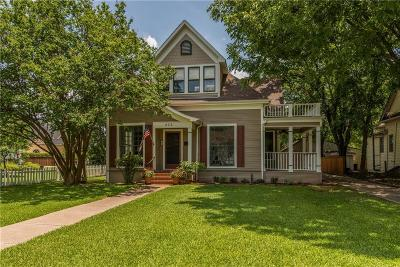 Sherman Single Family Home For Sale: 823 S Crockett Street