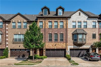 Irving Townhouse For Sale: 7861 Oxer Drive