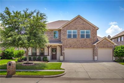 Wylie Single Family Home Active Option Contract: 2104 Fairway View Lane