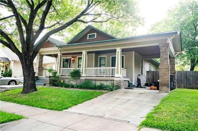 Fort Worth Single Family Home For Sale: 2015 College Avenue