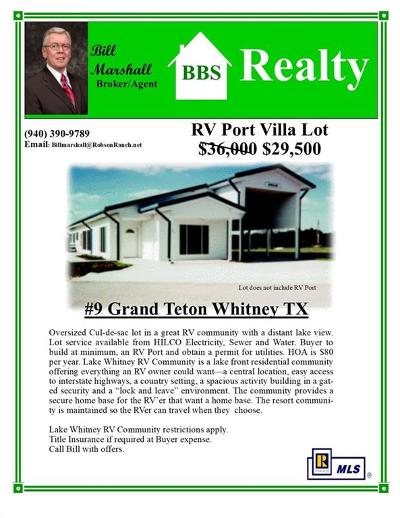 Residential Lots & Land For Sale: 9 NE Grand Teton Drive