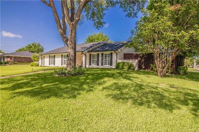 Highland Village Single Family Home Active Option Contract: 549 Sellmeyer Lane