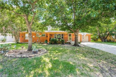 Benbrook Single Family Home For Sale: 1216 Warden Street
