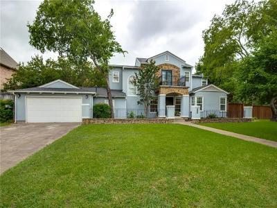Dallas County Single Family Home For Sale: 4237 Bluffview Boulevard