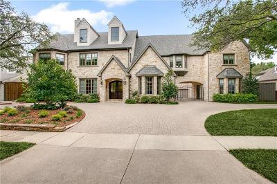 Highland Park Single Family Home For Sale: 4543 Arcady Avenue