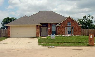 Haltom City Single Family Home Active Option Contract: 3452 Jack Atkins Court
