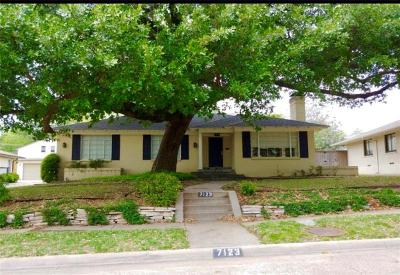 Dallas County Single Family Home For Sale: 7123 Cornelia Lane