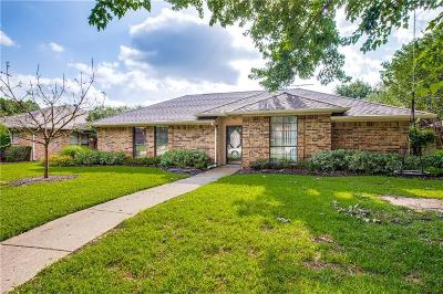 Coppell Single Family Home For Sale: 124 Hill Drive