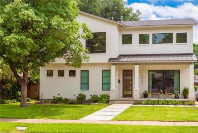 Dallas County Single Family Home For Sale: 6802 Vada Drive