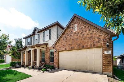 Tarrant County Single Family Home For Sale: 601 Cranbrook Drive