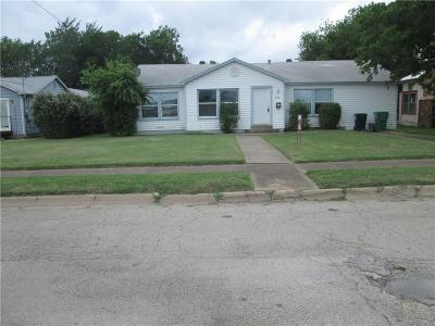 Denton Single Family Home For Sale: 509 Bolivar Street