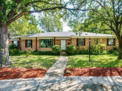 Dallas Single Family Home For Sale: 11338 Hillcrest Road