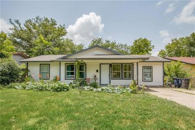 Fort Worth Single Family Home For Sale: 4000 Garrison Avenue