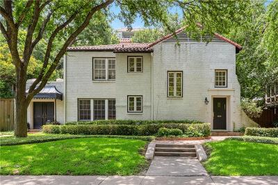 Highland Park Residential Lease For Lease: 4515 Fairway Avenue