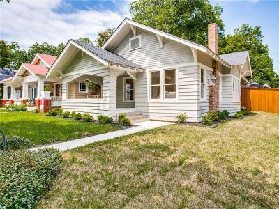 Dallas Single Family Home For Sale: 301 S Windomere Avenue