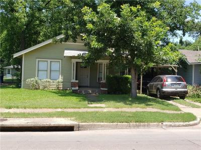 Dallas County Single Family Home For Sale: 5419 Belmont
