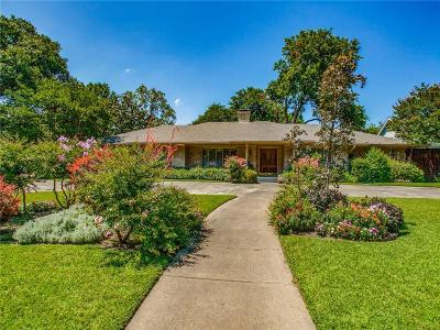 Dallas Single Family Home For Sale: 4309 Shady Hill Drive