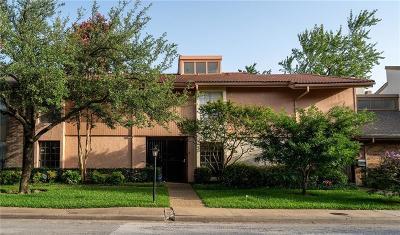 Dallas Townhouse For Sale: 9314 Emberglow Lane