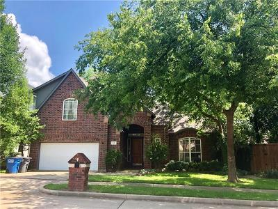 Collin County Single Family Home For Sale: 1629 Roma Lane