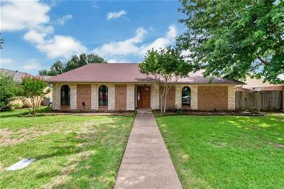 Flower Mound Single Family Home Active Option Contract: 1319 River Oaks Drive