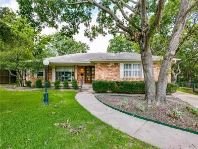 Dallas County Single Family Home For Sale: 3229 Sharpview Circle