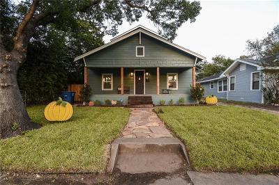 Dallas County Single Family Home For Sale: 1722 S Beckley Avenue