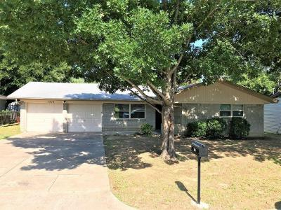 Hurst Residential Lease For Lease: 1212 Cavender Drive