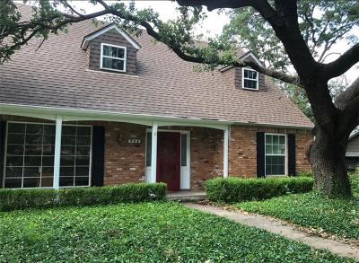 Dallas Single Family Home For Sale: 6225 Alpha Road