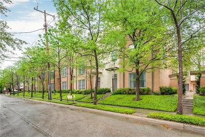 Dallas Townhouse For Sale: 4310 Buena Vista Street #8