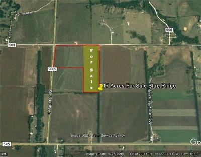 Collin County Farm & Ranch For Sale: 00 2862 Highway