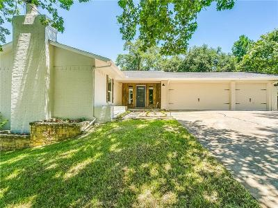 Fort Worth Single Family Home Active Option Contract: 8508 Cascade Court