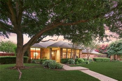Plano Single Family Home Active Option Contract: 5816 Pathfinder Trail
