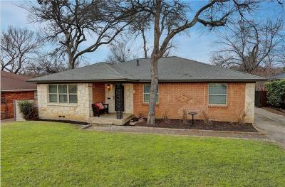Dallas Residential Lease For Lease: 7943 Claremont Drive