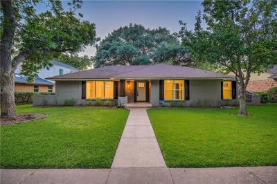 Dallas Single Family Home For Sale: 10433 Coleridge Street