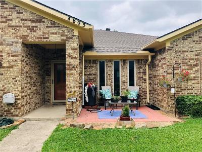 Dallas County, Denton County, Collin County, Cooke County, Grayson County, Jack County, Johnson County, Palo Pinto County, Parker County, Tarrant County, Wise County Single Family Home For Sale: 4605 Versailles Lane
