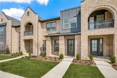 Dallas County, Denton County, Collin County, Cooke County, Grayson County, Jack County, Johnson County, Palo Pinto County, Parker County, Tarrant County, Wise County Townhouse For Sale: 7293 Sprangletop Street